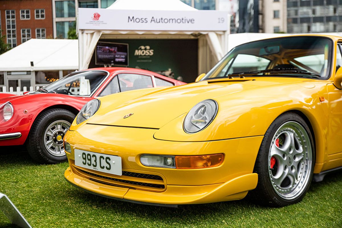 Rare Car Finance at London Concours